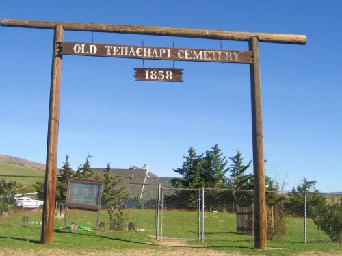 Entrance to the Old Tehachapi Cemetery